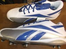 New Reebok NFL Thorpe Low D football low cut cleats Mens 16 blue lacrosse #8