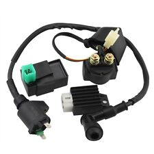 CDI Box Coil Solenoid Regulator for 50cc 70cc 90cc 110cc 125cc ATV Dirt Bike