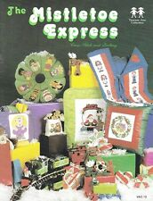 The MISTLETOE EXPRESS Cross Stitch & Quilting Book - OOPS!