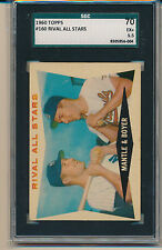 1960 Topps Rival All-Stars (Mantle/Boyer) (#160) SGC70 SGC