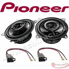 Car stereo front speakers kit for PIONEER Volkswagen VW T4 with adapters