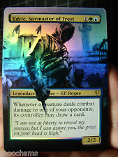 MTG EDRIC, SPYMASTER OF TREST & FOIL CUSTOM ALTERED EXTENDED ART COMMANDER EDH