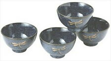 Japanese Dragonfly Porcelain Rice Bowl Gift Set BH82/N