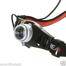 500LM CREE Q5 LED Zoomable Zoom Bike Bicycle Head Lamp Flashlight UK SELLER