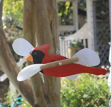 CARDINAL / RED BIRD / WHIRLIGIG / WHIRLYGIG / WHIRLYBIRD / GIG (Hanging)