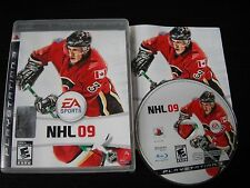 Playstation 3 PS3 complete in box NHL 09