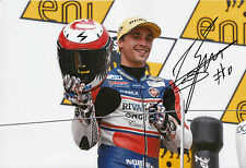 Alexis Masbou Hand Signed Ongetta-Rivacold Honda 12x8 Moto3 Photo 2014 1.