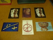 6 VTG ART Stone Carved Artifacts Tower of Pisa PostCards Champlain's Astrolabe +