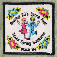 LMH Patch 1994 GOOD SAM CLUB Spring Samboree Rally WACO TX Sams Roaring 20s Fest