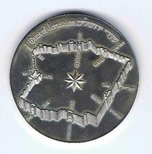 Israel 1981 Gates Of Jerusalem State Medal 37mm 26g Silver