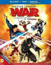 Justice League: War (Blu-ray disc, 2014, Blu-ray Only, No Digital or DVD)