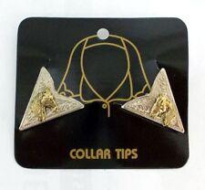Western Country Collar Tips Kragenecken  Kragenspiegel Silber/Gold Pferd Horse