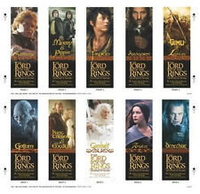 SEGNALIBRO SEGNA LIBRO BOOKMARK LORD OF THE RINGS ARWEN FRODO ARAGORN TOLKIEN