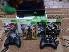 Microsoft Xbox 360 [PAL] (250 gb) with second gamepad, headset and 5 games