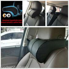 Black  Ergonomic Memory Foam Car Seat Neck Rest Cushion Pillow Support Headrest