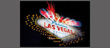 FABULOUS LAS VEGAS Neon Sign POSTER for Poker Room, Man Cave