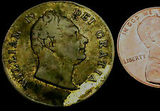 P526: 1831 British Royal Family Medal - William IV Crowned