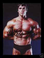 ARNOLD SCHWARZENEGGER AUTOGRAPHED SIGNED AND FRAMED PP PHOTO POSTER