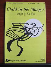 Child In The Manger - 1974 sheet music gospel - SAB, Piano, Guitar chords