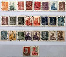 Russia Unión Soviética 1924 242-59 I a libre de las fuerzas de marcas de la revolución sombreado