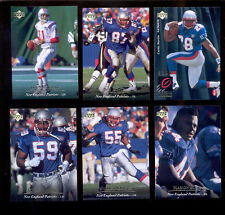 1995 UD New England Patriots Set DREW BLEDSOE WILLIE MCGINEST CURTIS MARTIN RC