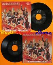 LP 45 7''THE RITCHIE FAMILY Where are the men?Bad 1979 italy DURIUM(*) cd mc dvd