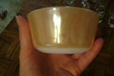 "Fire King Peach Lustre 3.75"" 6 oz  Custard Cup by Anchor Hocking"