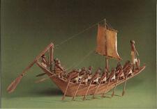 Alte Kunstpostkarte - Schiffsmodell - 12. Dynastie