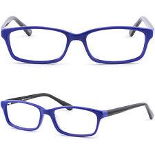 Blau Damenbrille Leichte Kunststoff Brillengestell Jugendbrille Zierlich Fassung