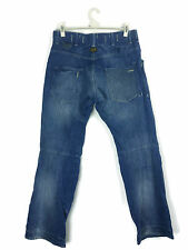 Men's G-star Fire Elwood jeans w34 l34 3301 Loose Fit Bootcut Denim Combat 6