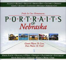 Portraits of Nebraska Pride In Our Hometowns Book New NE Nebr.
