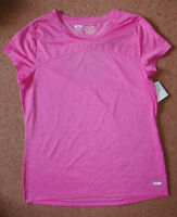 New Sz Small Athletic Works Sports T-Shirt Top Dri-More technology Open Back