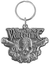 BULLET FOR MY VALENTINE Two Pistols Keyring Keychain Metal Rock Official Merch