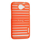 HTC ONE X Patterned Shell Orange Case Hard Protective Cover OEM New USA AT&T