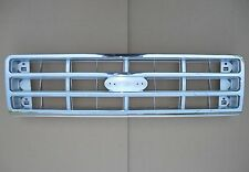 CHROME Grille Ford Bronco F150 F250 Grill 88 1987 1988 FO1200129 TY-E7TZ-8200B