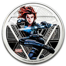 "2016 Fiji Proof Silver ""Captain America: Civil War"" Black Widow - SKU #97888"