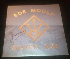 "HUSKER DU BOB MOULD Signed ""Silver Age"" Record Album LP"