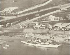 """NEWPORT BEACH Aerial ARCHES RESTAURANT Photo Print 978 11"""" x 14"""""""