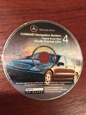 MERCEDES NAVIGATION DVD CD COMAND DISC #4 SOUTH CENTRAL USA Q 6 46 0088  7/01