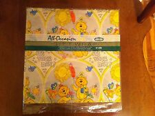 Vintage Cleo Birthday Gift Wrap/Wrapping Paper It's Your Day Teddy Bears Sealed