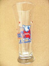 Bud Light Spuds MacKenzie Yukon Quest Intl Sled Dog Race pilsner glass Budweiser