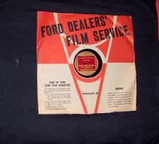 1941 Mercury (Ford) Sales Record -  Side 1, Side 2