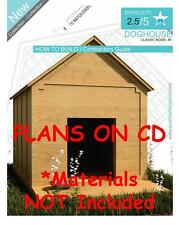 DOG HOUSE PLANS - Step By Step CAD Drawings - How To Build a Doghouse Guide - 05