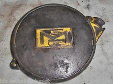 Deckel vom Starter einer Mc Culloch 380 A Oldtimer Kettensäge