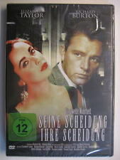 SEINE SCHEIDUNG IHRE SCHEIDUNG - DVD - OVP - ELIZABETH TAYLOR RICHARD BURTON