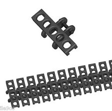 100 Lego small TREAD LINKS (technic,robot,tank,crane,excavator,bulldozer,loader)
