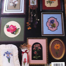 cross stitch chart book WILDFLOWERS