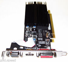 ATI 1GB 1024MB PCI-E x16 Windows 10 8 7 Vista XP Linux Video Graphics VGA Card