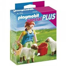 Playmobil Special Plus, Ref 4765, Woman with Sheep, Shepherdess, Animals, NEW