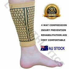 NEW EXTRA FIRM CALF AND ANKLE SUPPORT BRACE - bandage elastic adjustable strap
